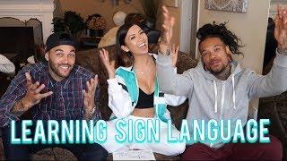 Learning Sign Laguage!
