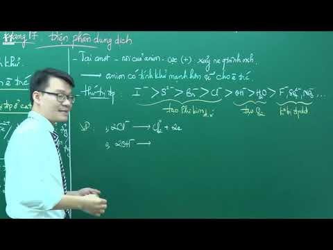 PENBOOK Hóa 12: Dạng 17.1 - Bài Tập Về điện Phân Dung Dịch