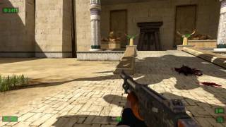 Serious Sam HD The First Encounter on Acer Aspire 5738DG ( 3D Notebook )