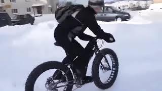 Фэтбайк зимой купить в Новосибирске
