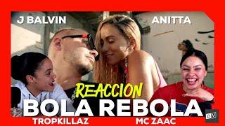 Baixar Tropkillaz, J Balvin, Anitta - Bola Rebola ft. MC Zaac | Just Vlogging Reaccion