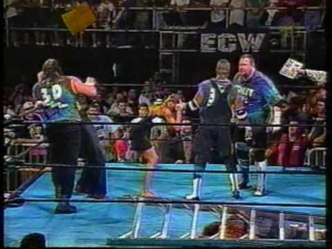 ECW Beulah vs The DUDLEY BOYZ!