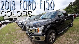 Here's the Colors of the 2018 Ford F150's | Exterior Color Review