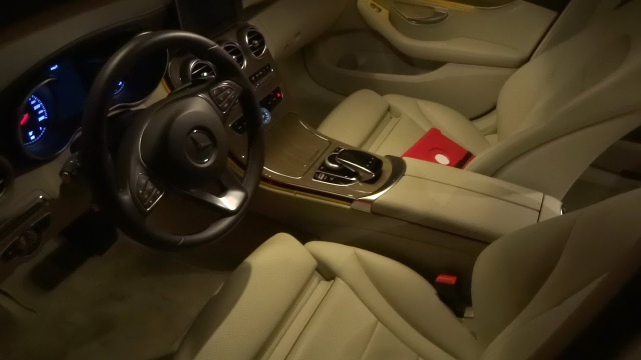 w205 mercedes benz c class ambient lighting q a how roomy interior review 2015 c200 c300 c400. Black Bedroom Furniture Sets. Home Design Ideas