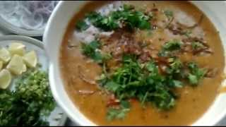Haleem (khichda) in HINDI /URDU by  Uzma Hussain