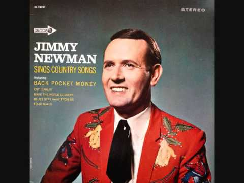 Jimmy C. Newman - November 22, 1963.