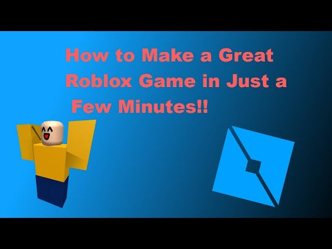 How to Make a Great Roblox Game | Roblox Studio Tutorial 2019 thumbnail
