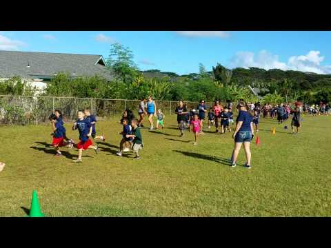 Helemano Elementary School Fun Run 2014