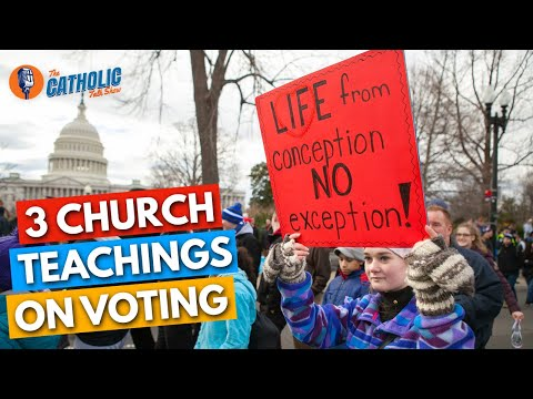 What the Church Teaches About Voting
