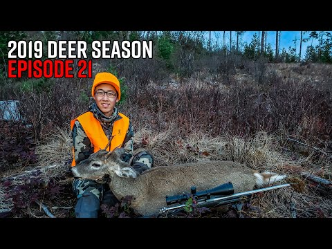 Buck Down - Washington Late Season Whitetail Deer Hunt | 2019 Hunting Season EP.21