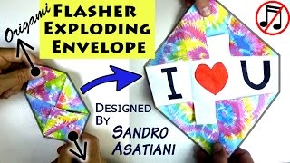 Origami Flasher Exploding Envelope (no music)