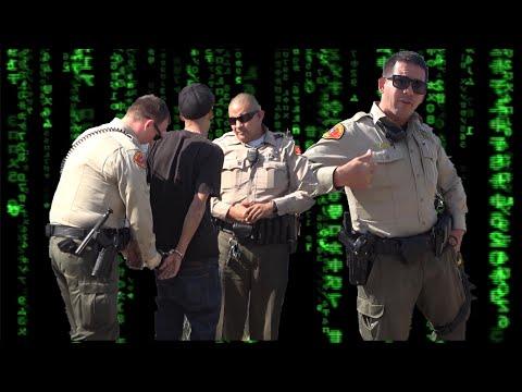 (Dumb) Bakersfield Deputy gets upset at himself, blames me! SJVT