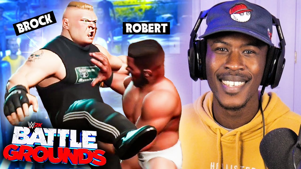 Playing a 30 Man Royal Rumble in WWE 2K Battlegrounds! - Challenge
