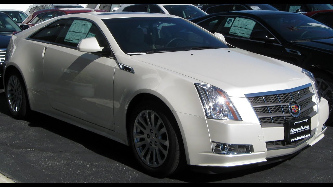 2011 Cadillac CTS Coupe - YouTube