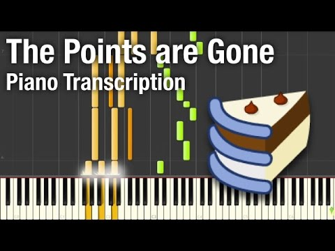 The Points Are Gone! - Piano Transcription