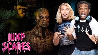 Tyler Breeze & Terror Lab: 'I'm not ready for this' — Jump Scares