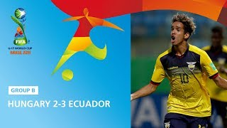 Hungary v Ecuador Highlights - FIFA U17 World Cup 2019 ™