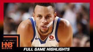 Golden State Warriors vs Denver Nuggets Full Game Highlights / Week 3 / 2017 NBA Season