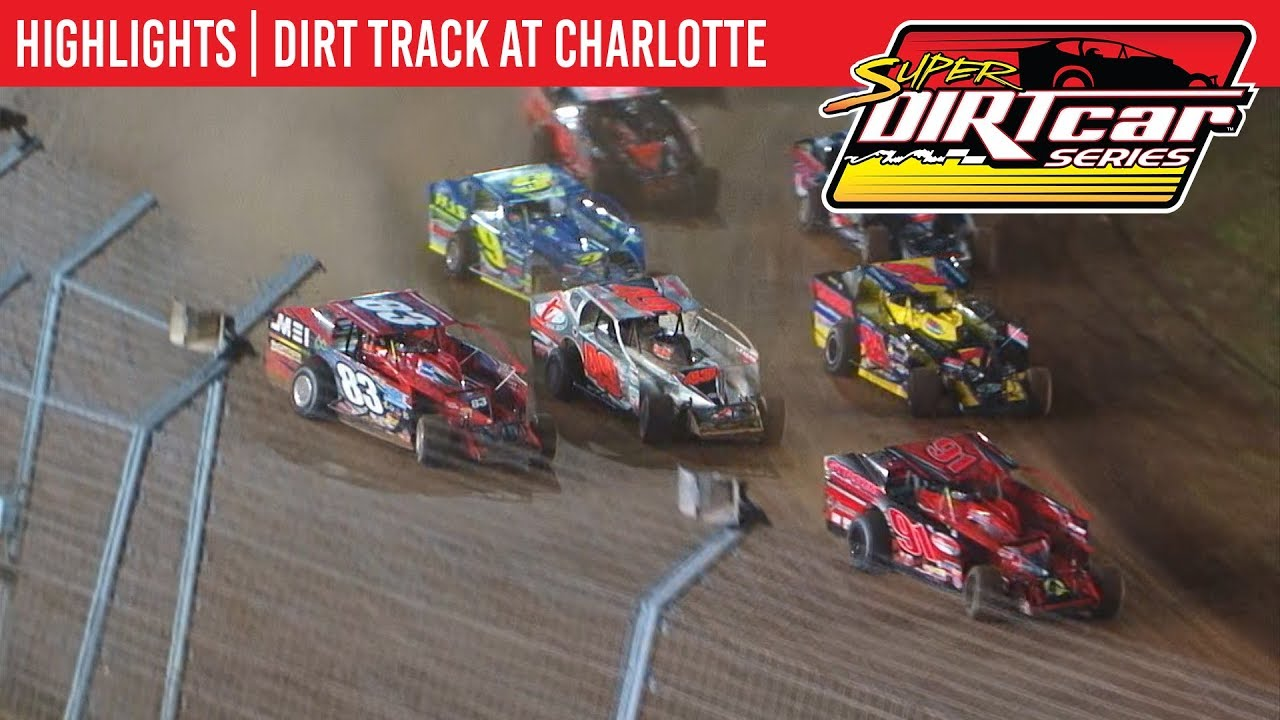 Super DIRTcar Series Big Block Modifieds The Dirt Track at Charlotte November 8th, 2019 | HIGHLIGHTS