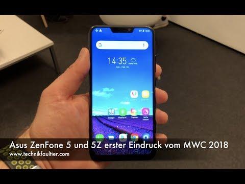 ASUS ZenFone 5 und 5Z erster Eindruck vom MWC 2018