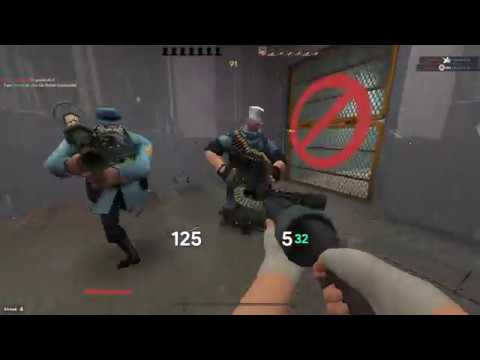 [TF2] Accidentally making people rage on a community server (Part1)