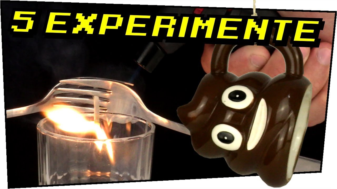 5 Experimente die jeder zuhause nachmachen kann! - Experimente zum ...