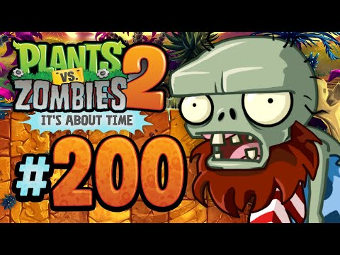 Plants vs. Zombies 2: It's About Time | Prehistoric Past - Jurassic Marsh - 200 (iOS Walkthrough)