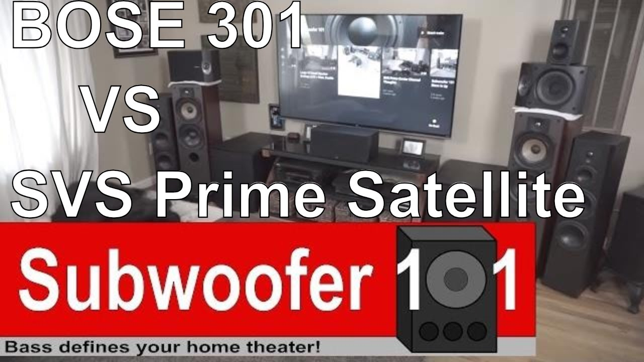 Bose 301 speakers vs svs prime satellites review and comparison bose 301 speakers vs svs prime satellites review and comparison sciox Gallery
