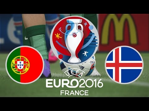 Portugal vs. Iceland - Euro 2016 (Group F)