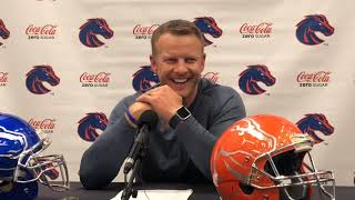 Boise State coach Bryan Harsin previews Colorado State