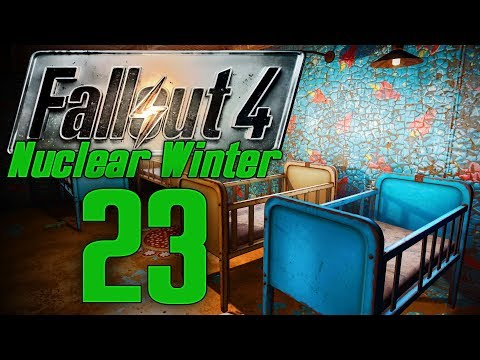 SKINNY MALONE   FALLOUT 4: NUCLEAR WINTER #23   MODDED SURVIVAL LET'S PLAY