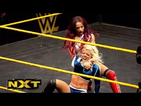 Alexa Bliss vs. Sasha Banks: WWE NXT, March 18, 2015