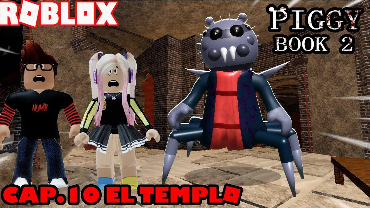 Piggy Book 2 Cap.10 El Templo! Se Descubren Los Secretos Ocultos! Que Esta Pasando?!