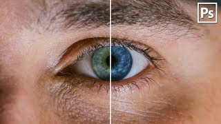 как изменить цвет глаз в adobe photoshop CS6