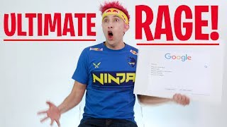 NINJA ULTIMATE RAGE DURING INTERVIEW | WIRED Parody