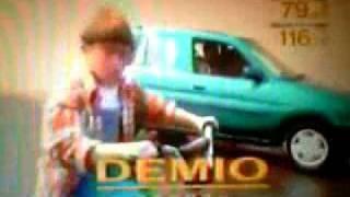 1996年 マツダ 初代デミオ CM (低画質)