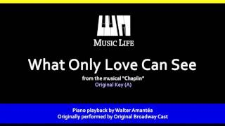 Video What Only Love Can See (Chaplin) - Piano Playback for Cover / Karaoke download MP3, 3GP, MP4, WEBM, AVI, FLV September 2018