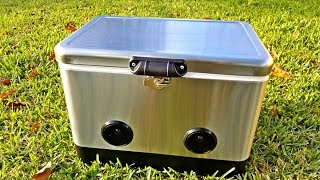 The Coolest Bluetooth Cooler Ever?