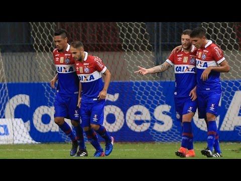 Bahia 3 X 0 Altos (PI). Gols de Hernane, Regis e João Paulo. (2/3/2017)