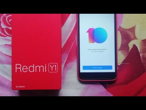 Install MIUI 10 Global Beta For Redmi Y1/ Y1 Lite | Download Link