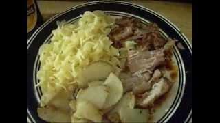 Big Meals From A Small Kitchen: Okotoberfest Schewinebraten