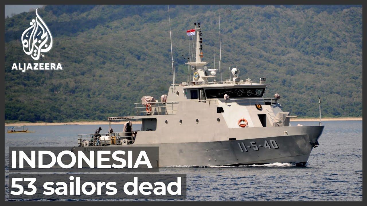 53 sailors presumed dead after sunken Indonesia submarine found - Al Jazeera English