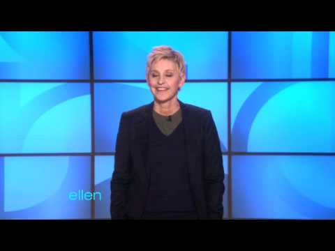 Ellen Remembered the Time Change!