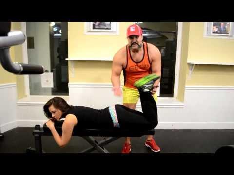 Тренируем БИЦЕПС БЕДРА, сгибатель бедра Малоизвестные высокоэффективные упражнения!