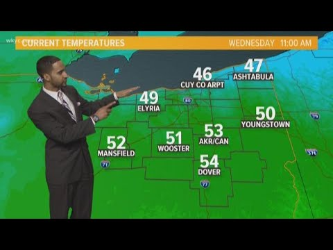 Afternoon Northeast Ohio weather forecast for April 24, 2019