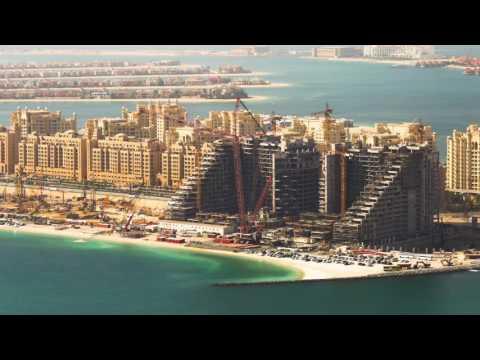 Installing the Viceroy Palm Jumeirah Dubai...