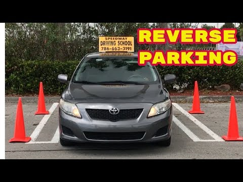 Driving lesson/How to Park in Reverse/Learning to Drive/Car