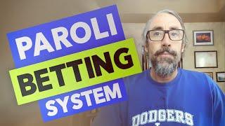Paroli betting system baccarat chandelier bet on the next president