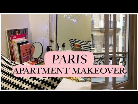 PARIS APARTMENT: MOVING IN, TOUR & MAKEOVER