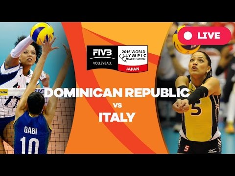 Dominican Republic v Italy - 2016 Women's World Olympic Qualification Tournament